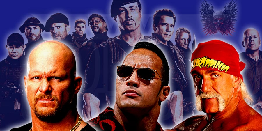 Hulk Hogan, Stone Cold Steve Austin & The Rock To Be A Part of Expendables 4
