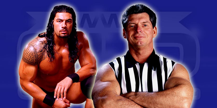 Roman Reigns & Mr. McMahon