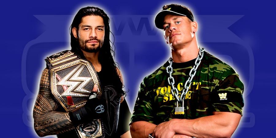 Roman Reigns vs. John Cena