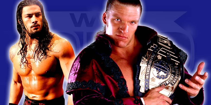 Roman Reigns vs. Triple H
