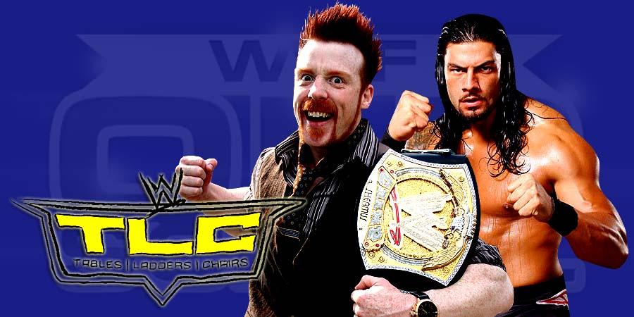 Sheamus vs. Roman Reigns - WWE TLC 2015