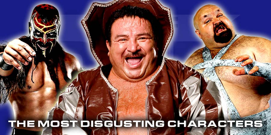 The 5 Most Disgusting Characters In Wrestling