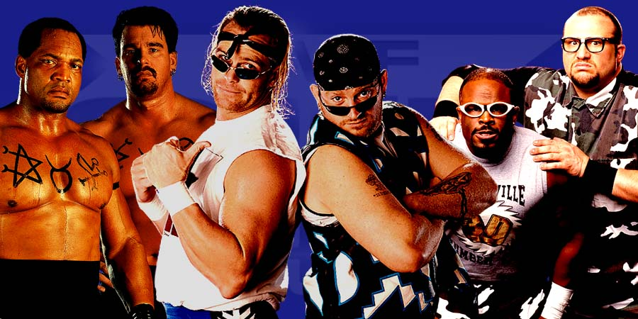 The Greatest Attitude Era Tag Teams