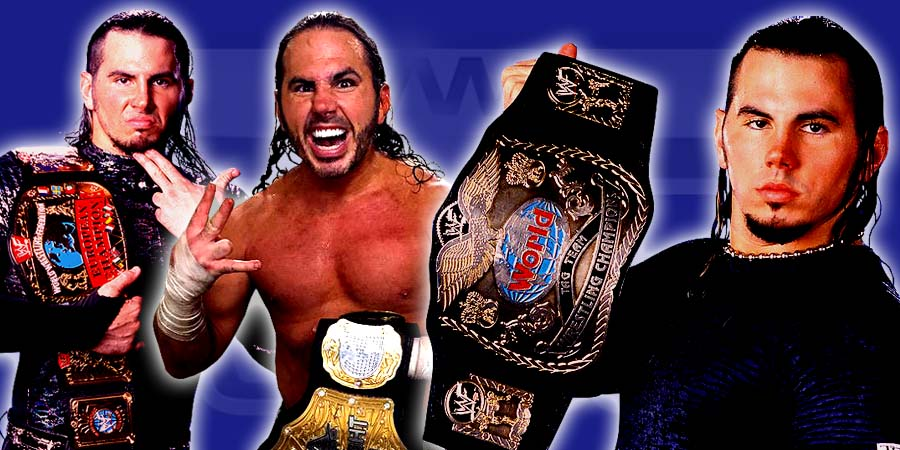 Top 10 Moments of Matt Hardy – Career Highlights