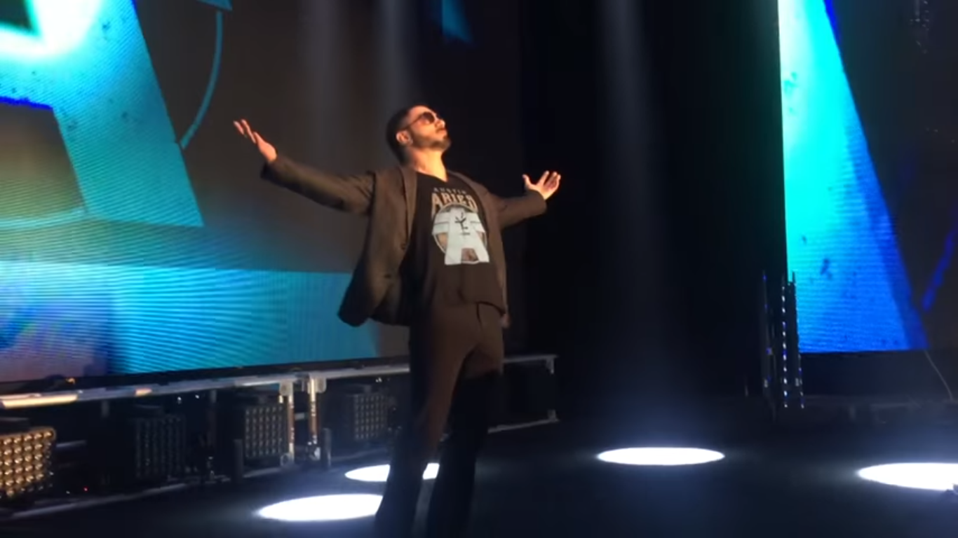 Austin Aries Debuts In WWE NXT 2016