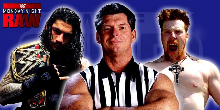 Roman Reigns as WWE World Heavyweight Champion on WWE Raw