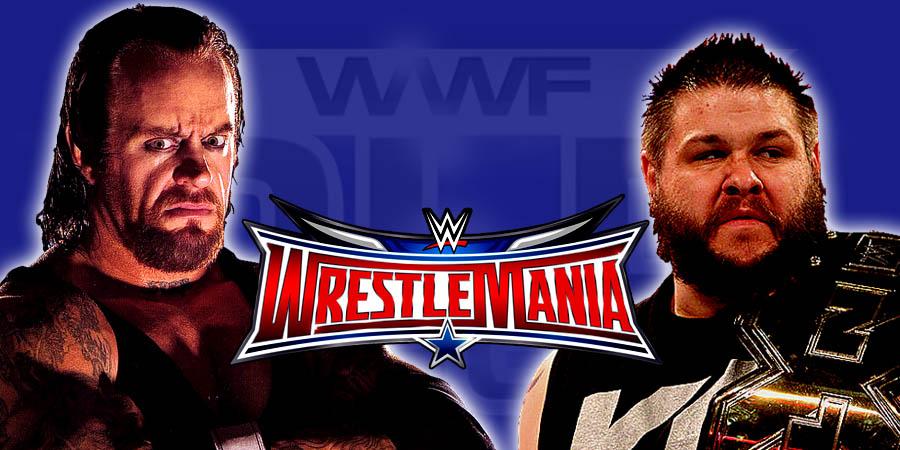 The Undertaker vs. Kevin Owens - WrestleMania 32