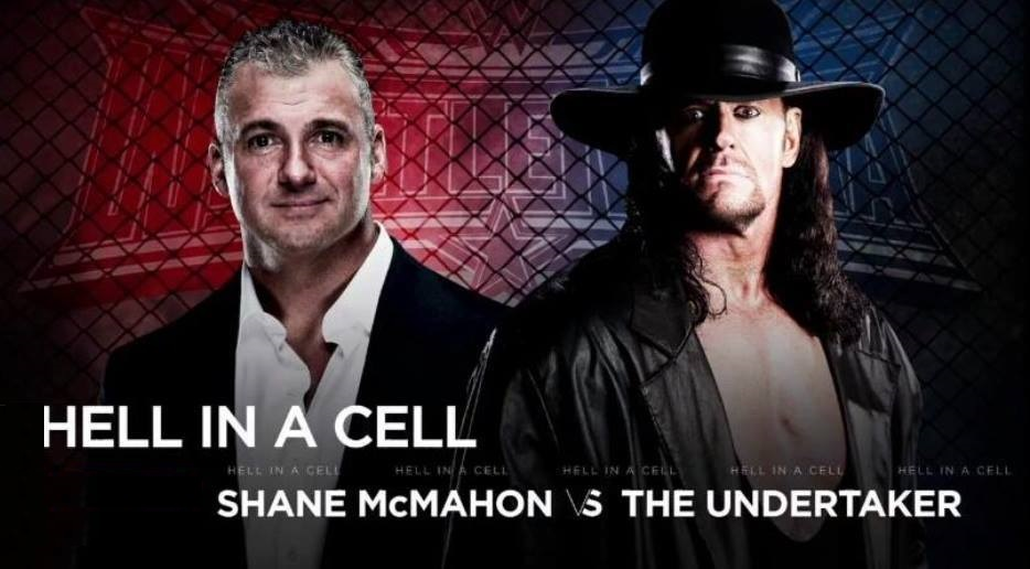 Shane McMahon vs. The Undertaker (Hell in a Cell match) - WrestleMania 32