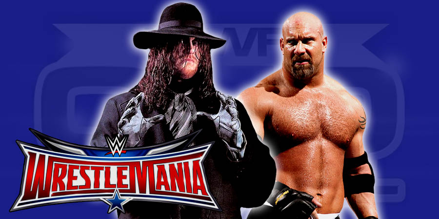 The Undertaker vs. Goldberg - WrestleMania 32