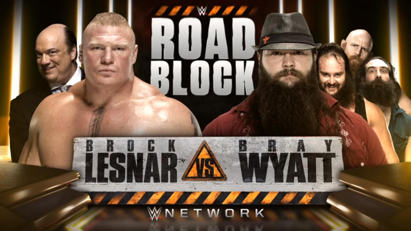 Brock Lesnar vs. Bray Wyatt - WWE Roadblock