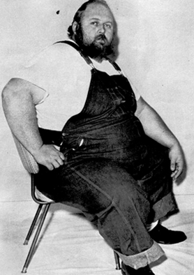 Man Mountain Mike - Heaviest Wrestlers of all time