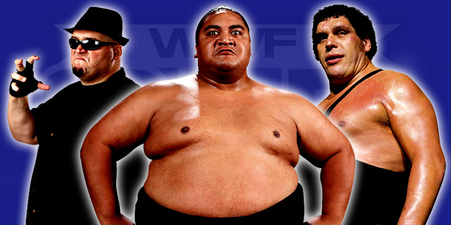 The 12 Heaviest Pro-Wrestlers In History