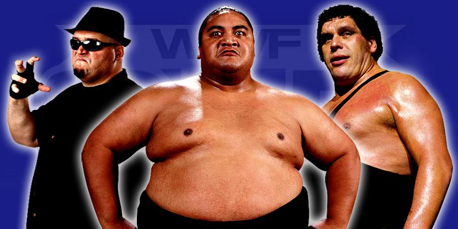 The 12 Heaviest Pro-Wrestlers In History