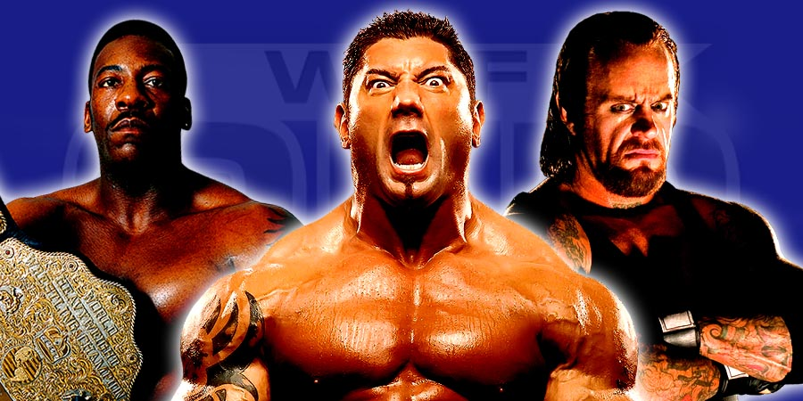 The Greatest Moments of Batista's Career