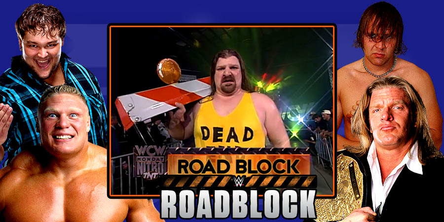 WWE Roadblock - Triple H vs. Dean Ambrose, Brock Lesnar vs. Bray Wyatt