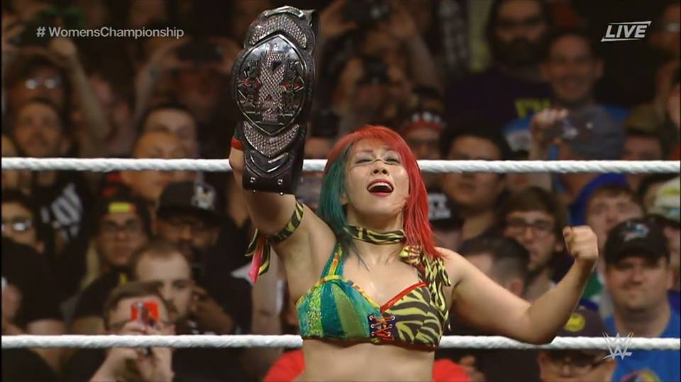 Asuka Wins NXT Women's Championship At NXT Takeover Dallas After Defeating Bayley