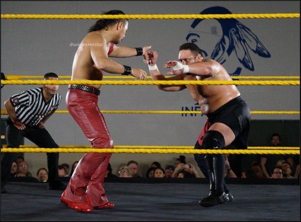 Shinsuke Nakamura vs. Samoa Joe - WWE NXT Live Event Orlando