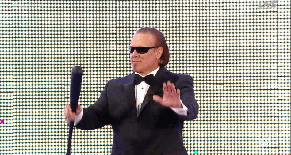 Sting Announces his Retirement at WWE Hall of Fame 2016