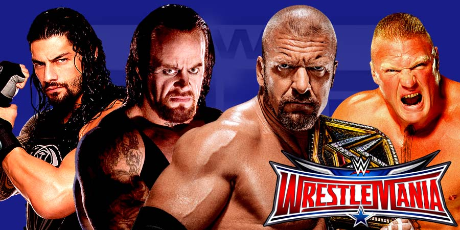 WWE WrestleMania 32 Results - The Undertaker vs. Shane McMahon, Triple H vs. Roman Reigns, Brock Lesnar vs. Dean Ambrose