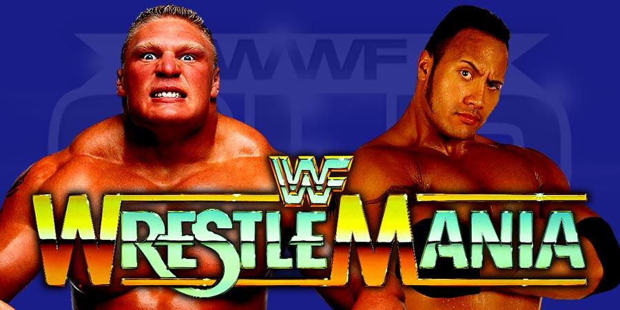 Brock Lesnar vs. The Rock - WrestleMania 33