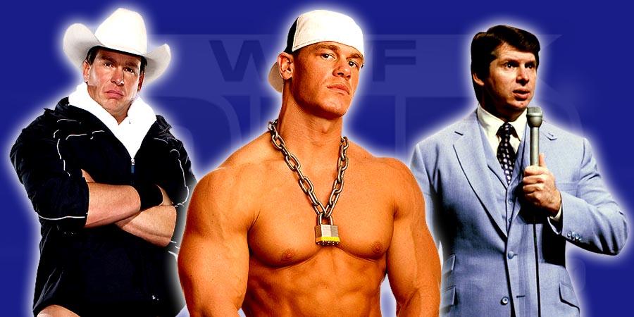 JBL, John Cena & Vince McMahon