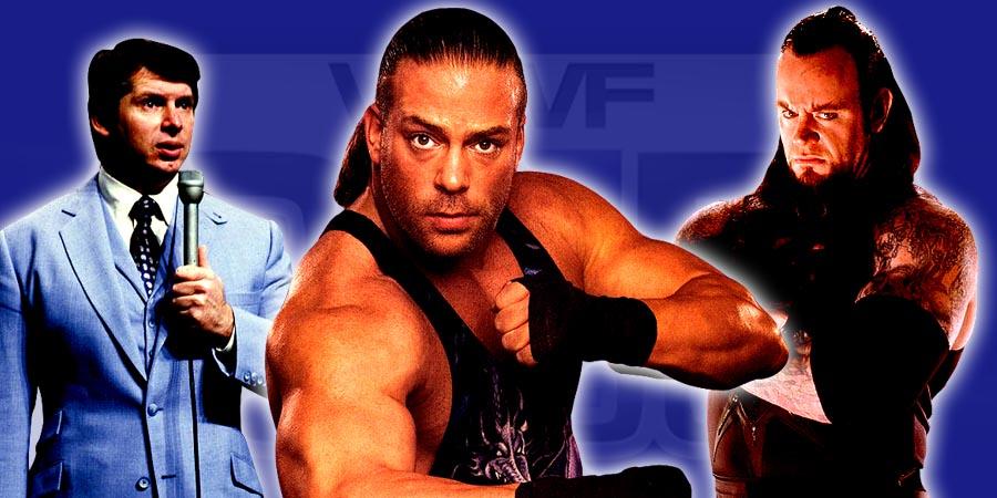 The Undertaker not happy with Vince McMahon, Rob Van Dam Divorces