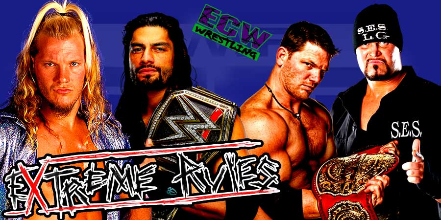 WWE Extreme Rules 2016 Results - Roman Reigns vs. AJ Styles (Extreme Rules Match), Chris Jericho vs. Dean Ambrose (1st Ever Asylum Match)