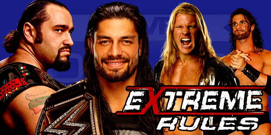 WWE Extreme Rules 2016 - Roman Reigns Retains, Rusev Wins US Title, Seth Rollins Returns
