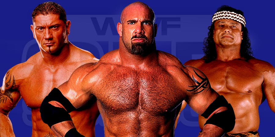 Batista, Goldberg & Jimmy Snuka