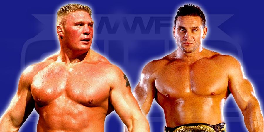 Brock Lesnar & Ken Shamrock
