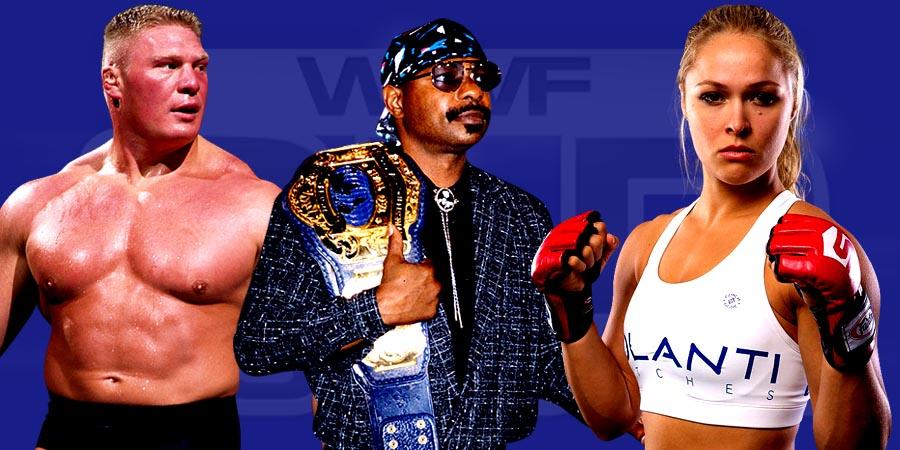 Brock Lesnar & Ronda Rousey