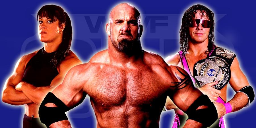 Chyna, Goldberg, Bret Hart