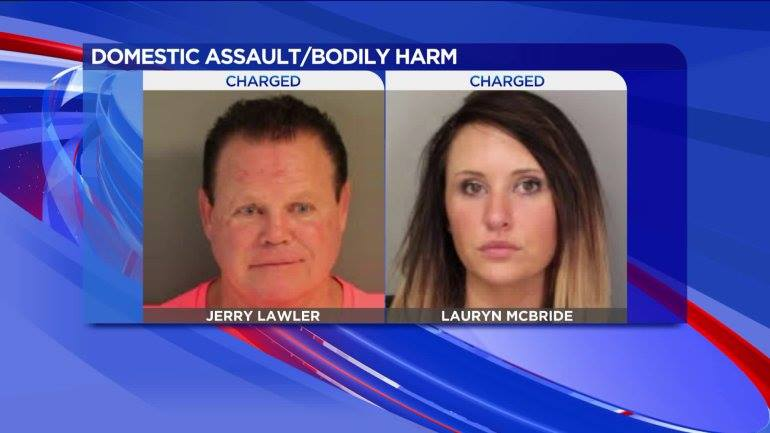 Jerry Lawler Domestic Violence 2016 - Supended From WWE