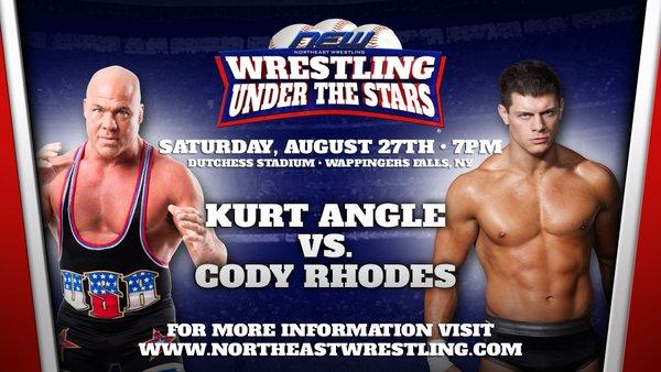 Kurt Angle vs. Cody Rhodes - August 27, 2016 (Northeast Wrestling)