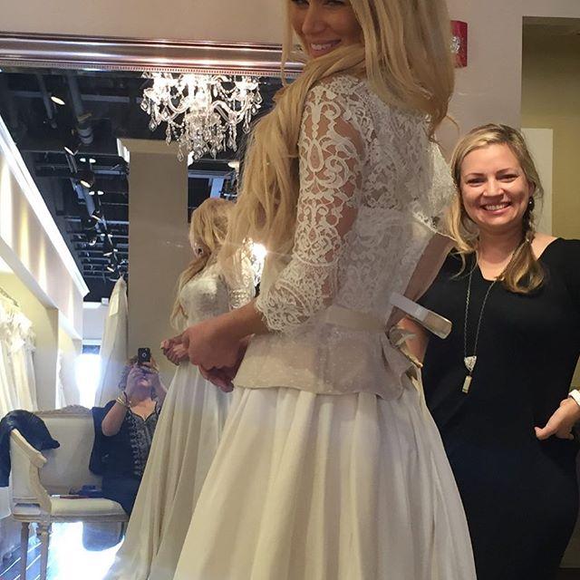 Lana's wedding dress