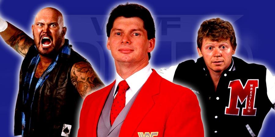 Luke Gallows, Vince McMahon, Bob Backlund