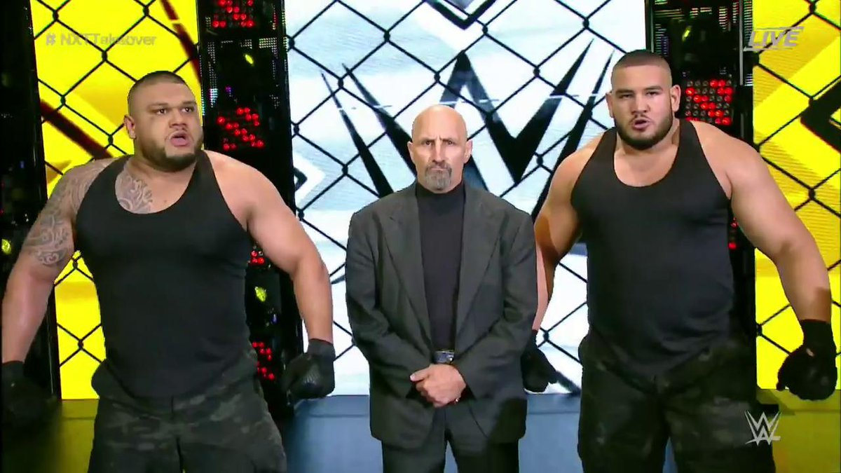 Paul Ellering Returns To WWE NXT With Authors of Pain