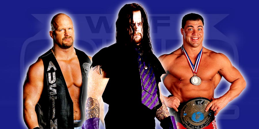 Stone Cold Steve Austin, The Undertaker, Kurt Angle