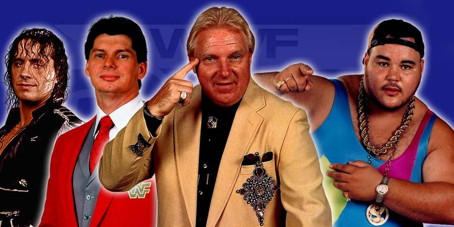 Bret Hart, Vince McMahon, Bobby Heenan, P.N. News