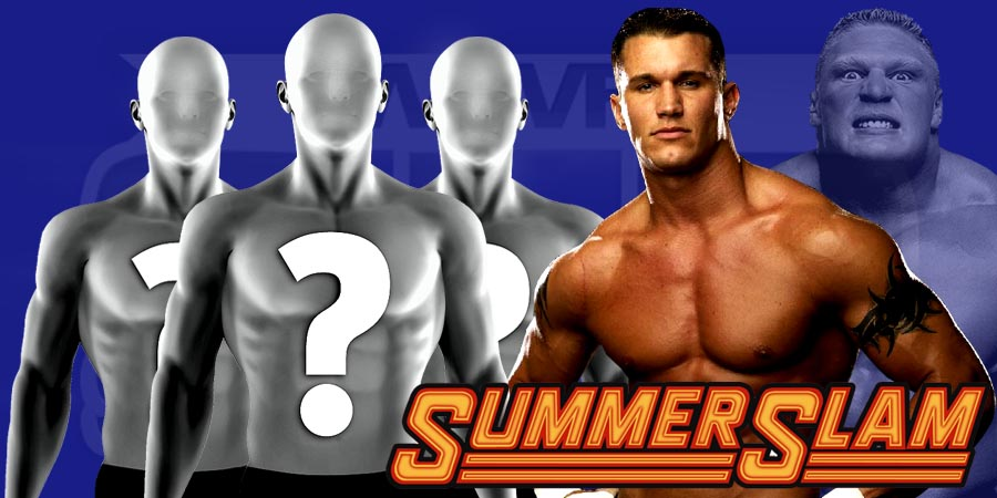 Brock Lesnar vs. Randy Orton At SummerSlam 2016 - Possible Replacements For Lesnar If He Gets Suspended