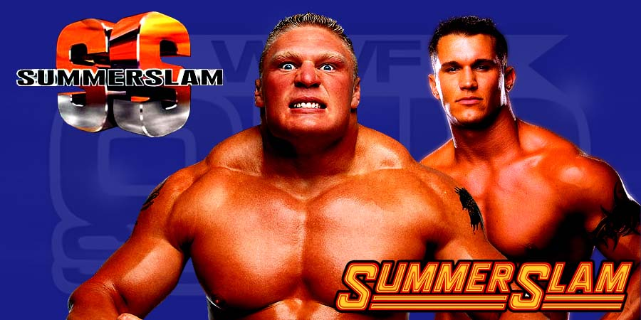 Brock Lesnar vs. Randy Orton -WWE SummerSlam 2016