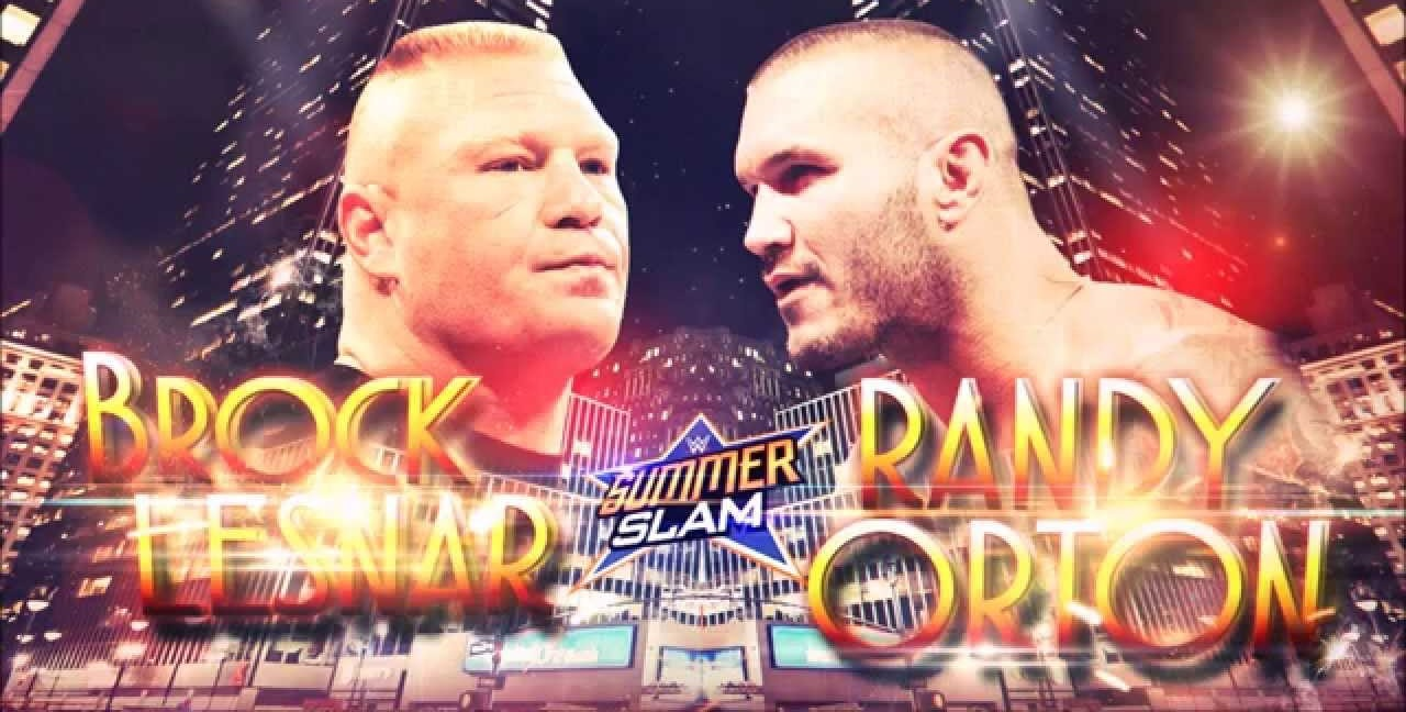 Brock Lesnar vs. Randy Orton - WWE SummerSlam 2016