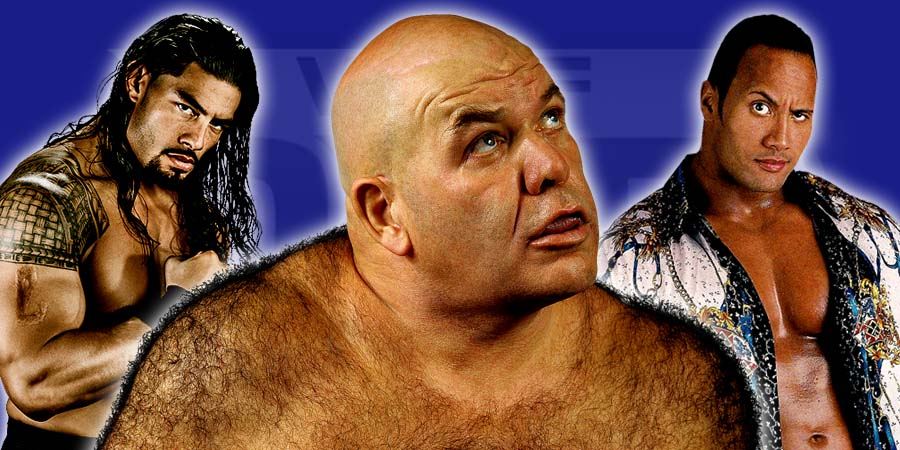 Roman Reigns Losing His Push After Wellness Policy Failure, George The Animal Steele Returns Home After Being In The Hospital For 105 Days, The Rock Becomes The Highest Paid Actor In The World