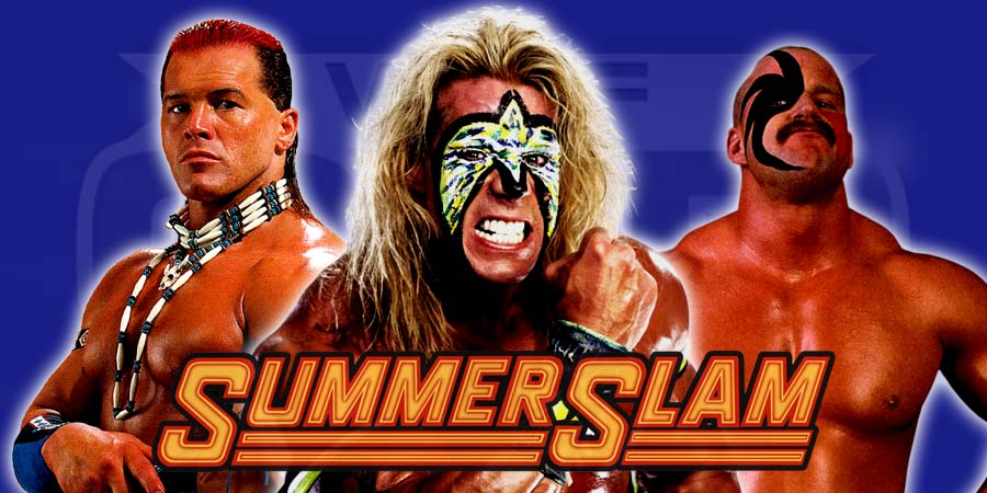 12 WWF Wrestlers That Are Undefeated At SummerSlam