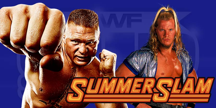Brock Lesnar & Chris Jericho involved in a real life backstage fight at SummerSlam 2016