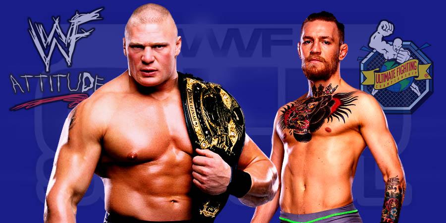 Brock Lesnar vs. Connor McGregor