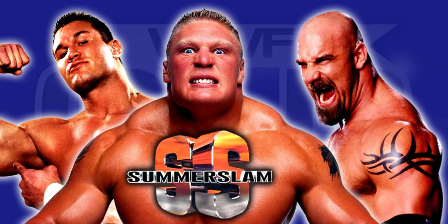 Goldberg returning to SummerSlam 2016 to challenge Brock Lesnar