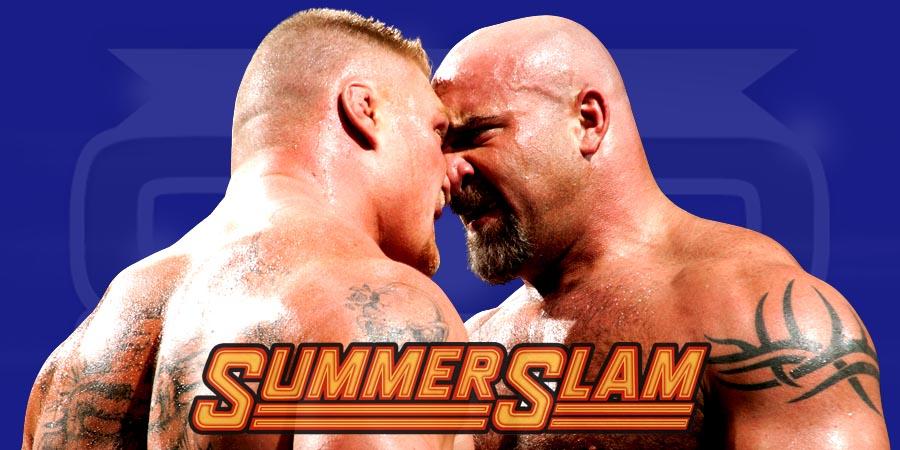 Goldberg returning to WWE at SummerSlam 2016 to challenge Brock Lesnar