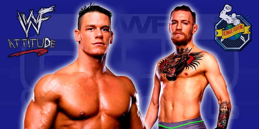 John Cena vs. Conor McGregor