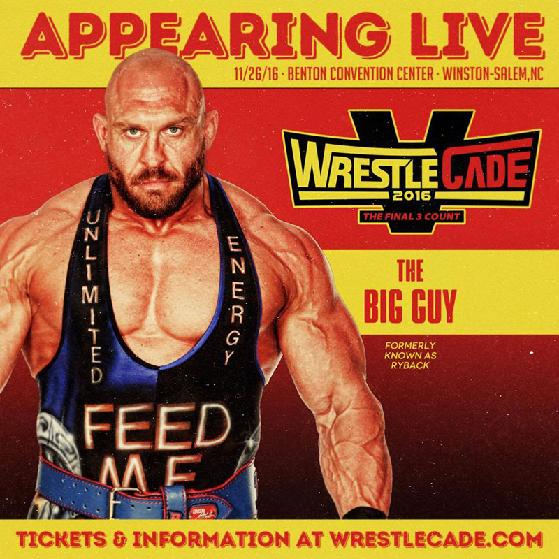 Ryback new ring name on indy circuit - The Big Guy Formerly known as Ryback